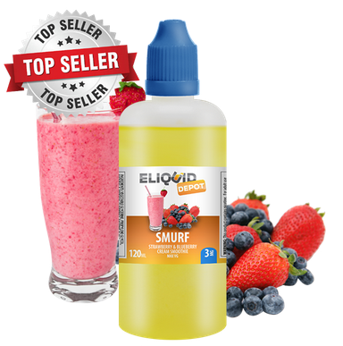 Eliquid Depot Smurf E-juice Review
